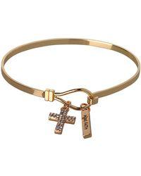 BCBGeneration Bcbg Generation Cross Charm Bracelet