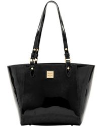 Dooney & Bourke - Janie Patent Leather Tote - Lyst