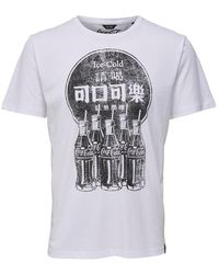 Only & Sons - Vintage Logo Print Tee - Lyst