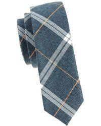 Original Penguin - Kirby Slim Plaid Tie - Lyst