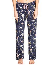 Pj Salvage - Dreams Bloom Printed Pyjama Trousers - Lyst
