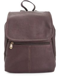 Royce - New York Leather Tablet Travel Backpack - Lyst