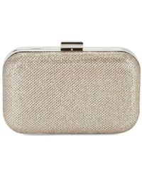 Jessica Mcclintock - Champ Metallic Clutch - Lyst