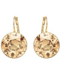 Swarovski - Bela Faceted Crystal Drop Earrings - Lyst