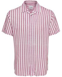 Only & Sons - Striped Button-down Shirt - Lyst