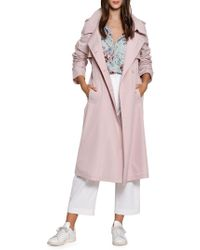 Walter Baker - Alanna Colored Trench Coat - Lyst