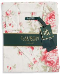 Lauren by Ralph Lauren - Printed Cotton Pyjamas - Lyst