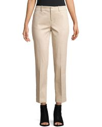 Lord & Taylor - Plus Classic Fitted Pants - Lyst