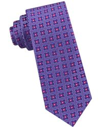 Ted Baker - Square Flower Silk Tie - Lyst