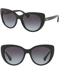 Pink Pony - Gradient 55mm Butterfly Sunglasses - Lyst