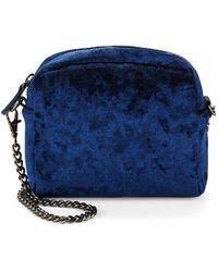 Lord & Taylor - Textured Crossbody Bag - Lyst