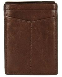 Fossil - Ingram Rfid Magnetic Card Case - Lyst