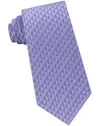 Calvin Klein - Optic Geo Silk Tie - Lyst