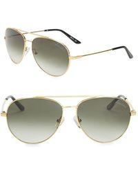 B Brian Atwood - 59mm Aviator Sunglasses - Lyst