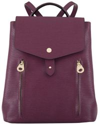 Lodis - Small Bel Air Rfid Hermione Leather Backpack - Lyst