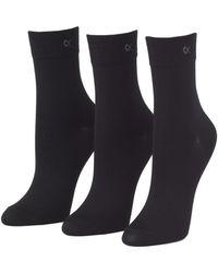 Calvin Klein - Three-pair Short Crew Socks - Lyst