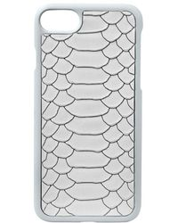 Gigi New York - Python-embossed Leather Iphone 7 Case - Lyst