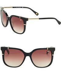 Diane von Furstenberg - Roxanne 51mm Square Sunglasses - Lyst