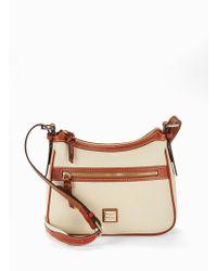 Dooney & Bourke - Piper Leather Crossbody Bag - Lyst