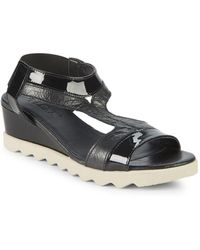 The Flexx - Give A Hoot Wedge Sandals - Lyst