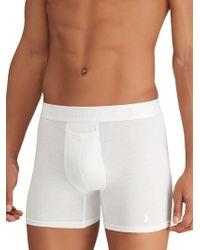 Polo Ralph Lauren Stretch Cotton Boxer Briefs 2-pack