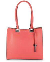 Calvin Klein - Chic Faux Leather Tote - Lyst