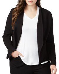 RACHEL Rachel Roy - Ponte Knit Jacket - Lyst