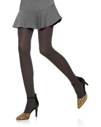 Hue - Opaque Tights With Control Top - Lyst