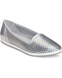 Aerosoles - Smart Move Perforated Leather Slip On Sneakers - Lyst
