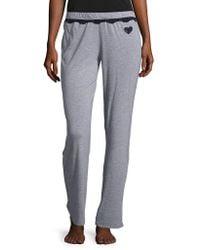 Betsey Johnson - Knit Pyjama Trousers - Lyst