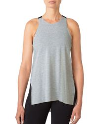 Mpg - Elastic Strap Relaxed Fit Tank Top - Lyst