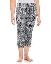 Ellen Tracy - Plus Yours To Love Cropped Trousers - Lyst