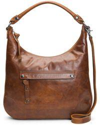 Frye - Melissa Leather Hobo Bag - Lyst
