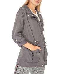 Dorothy Perkins - Hooded Zip Jacket - Lyst