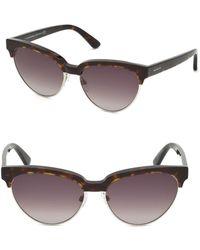 Balenciaga 57mm Clubmaster Sunglasses