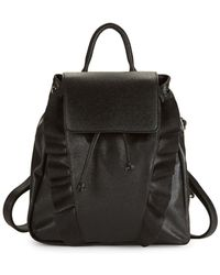 Lord & Taylor - Ruffled Backpack - Lyst