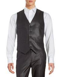 Kenneth Cole Reaction - Button-front Vest - Lyst
