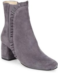 Isaac Mizrahi New York - Shelby Kid Suede Booties - Lyst