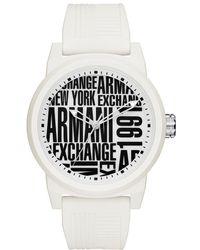 Armani Exchange - Atlc Aix Strap Watch - Lyst