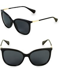 Pink Pony - 56mm Butterfly Sunglasses - Lyst
