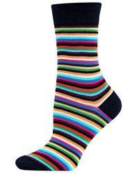 Hot Sox - Striped Trouser Socks - Lyst