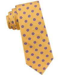 Ted Baker - Spaced Flower Silk Tie - Lyst
