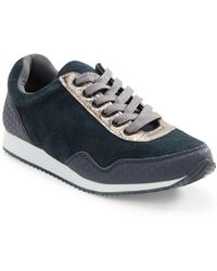 Lord & Taylor - Devico Lace-up Sneakers - Lyst
