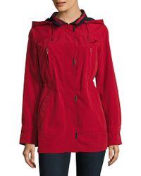 Gallery - Lightweight Hooded Jacket - Lyst