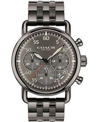COACH - Delancey Stainless Steel Chronograph Bracelet Watch - Lyst