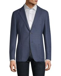 Strellson - Mandoc Wool Blend Slim-fit Sporcoat - Lyst