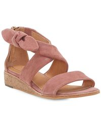 Corso Como - Rasque Demi-wedge Suede Sandals - Lyst
