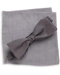 Tallia Orange | Bow Tie And Pocket Square Set | Lyst