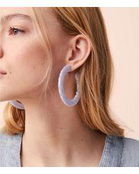 Lou & Grey - Machete Grande Flat Hoop Earrings - Lyst