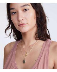 Lou & Grey - Shashi Eagle Medallion Necklace - Lyst